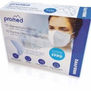 Atemschutzmaske Promed FFP2 10 Stück