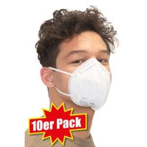 10er Pack FFP2-Schutzmasken