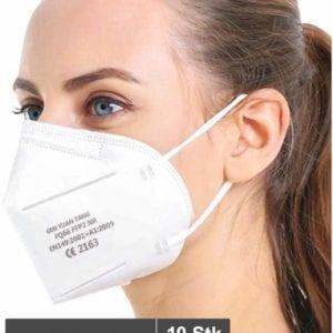 Atemschutzmaske FQ66 FFP2 10 Stück