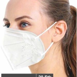 Atemschutzmaske Siegmund JFM02 FFP2 20 Stück