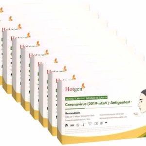 Hotgen Coronavirus Antigentest zur Laienanwendung 10 x 5 Stück