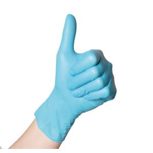 Semperguard® Einmalhandschuhe Nitril Xpert, Hautfreundliche, blaue Einweghandschuhe, 1 Karton = 10 Packungen = 1.000 Stück, Größe: L