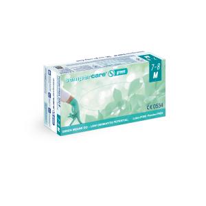Sempercare® Untersuchungshandschuhe Green, Nitril, Sehr hautfreundlicher Einweghandschuh aus Nitril, frei von Beschleunigern, 1 Karton = 10 x 200 Stück = 2000 Stück, Größe: M